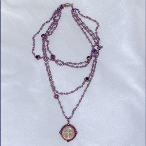 VIRGINS SAINTS & ANGELS San Benito Necklace